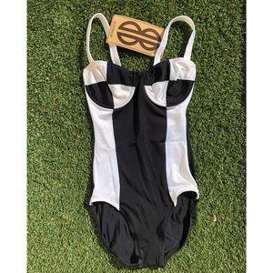 Vintage 80's Bill Blass Swimsuit One Piece